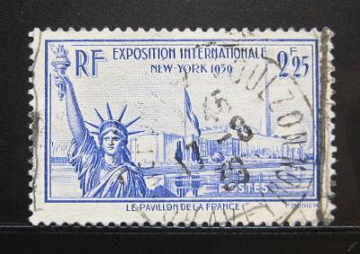 Francie 1939 Socha svobody Mi# 444 0997B