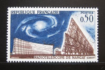 Francie 1963 Rádioteleskop Mi# 1443 0997B
