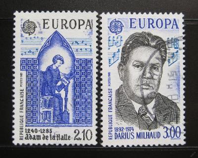 Francie 1985 Evropa CEPT Mi# 2497-98 0997B