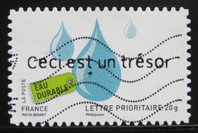 Francie 2008 Kapky vody Mi# 4436 0998A