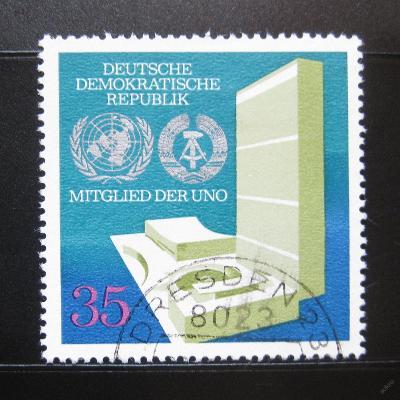 DDR 1973 Vstup do OSN Mi# 1883 0973