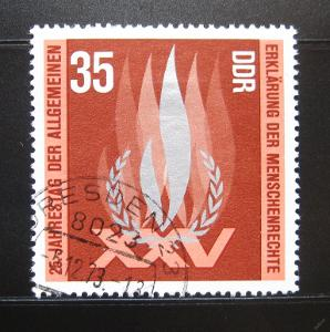 DDR 1973 Lidská práva Mi# 1898 0973