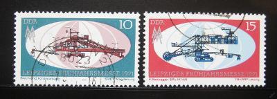DDR 1971 Lipský veletrh Mi# 1653-54 0970
