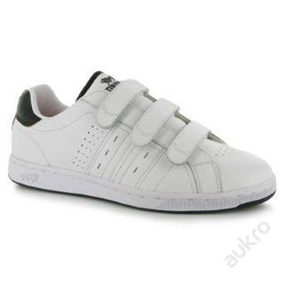 Pánské kožené boty Lonsdale, suchý zip, velikost UK 7 (41)