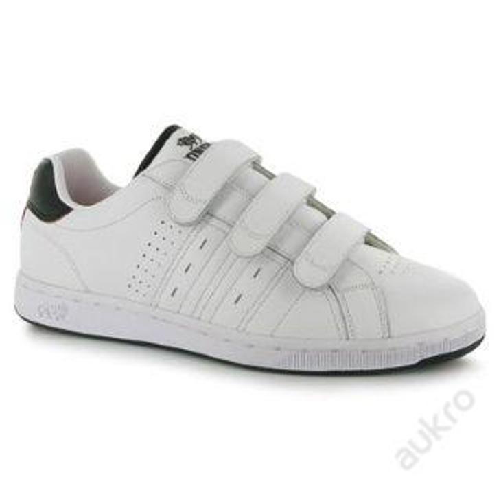 Pánské kožené boty Lonsdale, suchý zip, velikost UK 7 (41) - Pánské boty