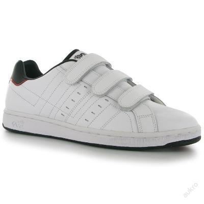 Pánské kožené boty Lonsdale, zip, velikost UK 10 (EU 44,5)