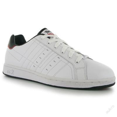 Pánské kožené boty Lonsdale, tkaničky, UK 14 (49)