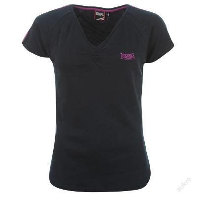 Dámské tmavě modré tričko Lonsdale, velikost L