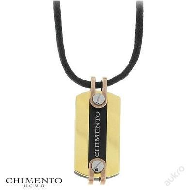 CHIMENTO UOMO pánský náhrdelník (likvidace skladových zásob)