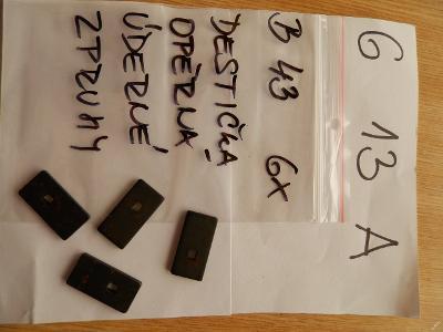 Destička signální pistoli vz.44/67, B43/G13A