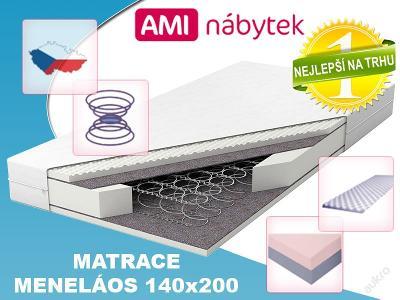 Pružinová matrace MENELÁOS 140x200 SKVĚLÁ CENA!