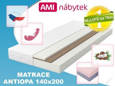 Vrstvová pěnová matrace ANTIOPA 140x200 KOKOS AMI