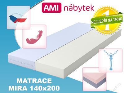 Pěnová matrace MIRA 140x200 SKVĚLÁ CENA!