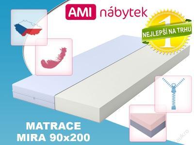 Pěnová matrace MIRA 90x200 SKVĚLÁ CENA!