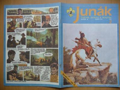 Časopis - JUNÁK - číslo 2 z ledna roku 1992