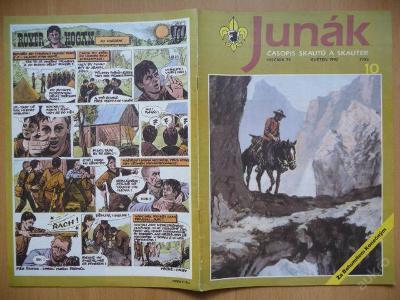 Časopis - JUNÁK - číslo 10 z května roku 1992