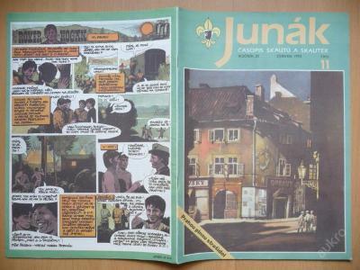 Časopis - JUNÁK - číslo 11 z června roku 1992