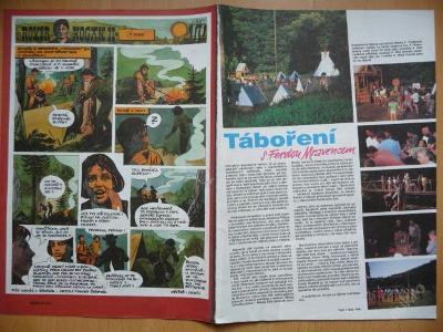 Časopis - JUNÁK - číslo 20 z října roku 1992