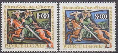 PORTUGALSKO 1966 Mi: 1006-1007 - **svěží**