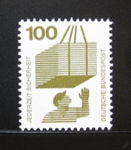 Německo 1972 Prevence před nehodami Mi# 702 0111