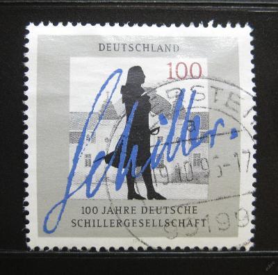 Německo 1995 Schillerova společnost Mi# 1792 0114