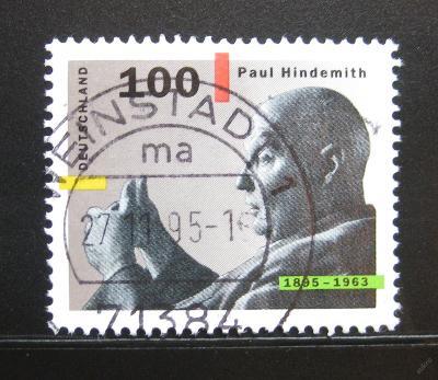 Německo 1995 Paul Hindemith Mi# 1827 0114