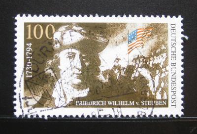 Německo 1994 Baron von Steuben Mi# 1766 0114
