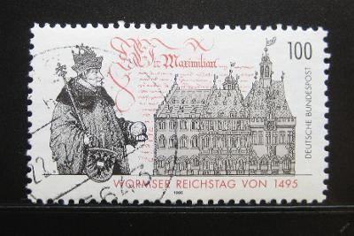 Německo 1994 Wormský sněm Mi# 1773 0114