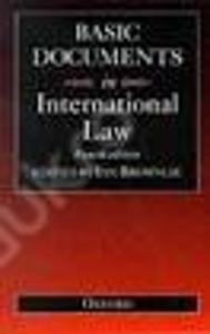Basic Documents in International Law / Brownlie