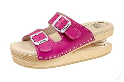 Zdravotní obuv Primavera Luver růžová