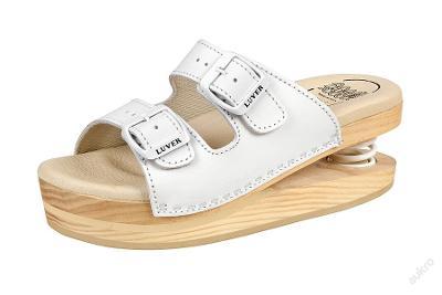 Zdravotní obuv Primavera Luver bílá