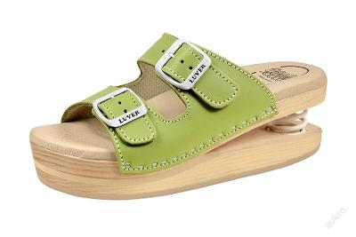 Zdravotní obuv Primavera Luver zelená