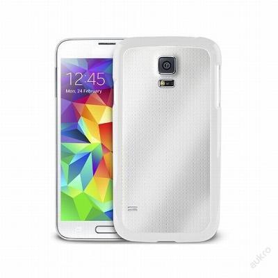 Pouzdro Puro Clear Samsung Galaxy S5 bílé