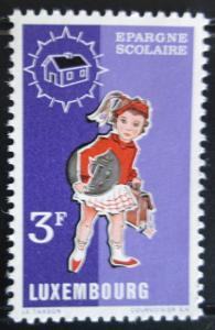 Lucembursko 1971 Školačka Mi# 835 0029