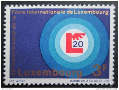 Lucembursko 1968 Mezinárodní veletrh Mi# 774 0029