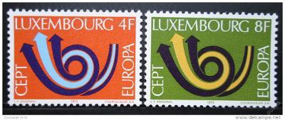 Lucembursko 1973 Evropa CEPT Mi# 862-63 0023