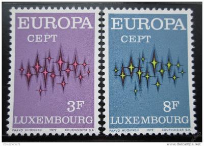 Lucembursko 1972 Evropa CEPT Mi# 846-47 0023