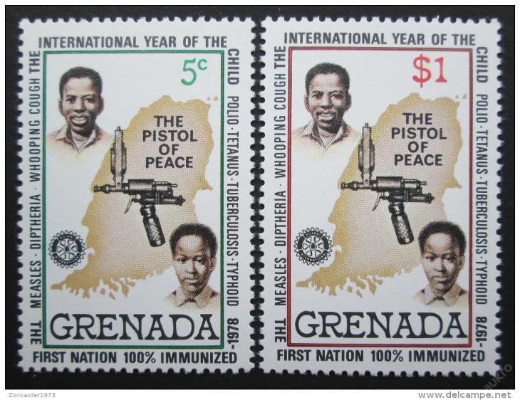 Grenada 1979 Mezinárodní rok dětí Mi# 972-73 0048 - Filatelie