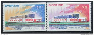 Švédsko 1973 Severská spolupráce Mi# 808-09 0057