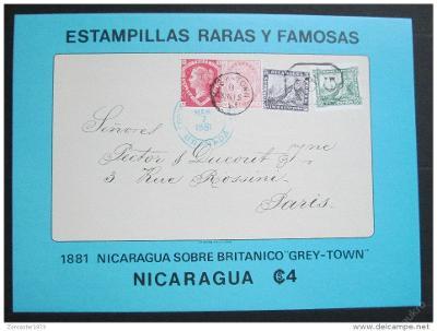 Nikaragua 1976 Vzácné známky Mi# Block 97 1033