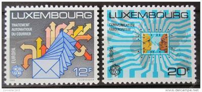 Lucembursko 1988 Evropa CEPT Mi# 1199-1200 1039