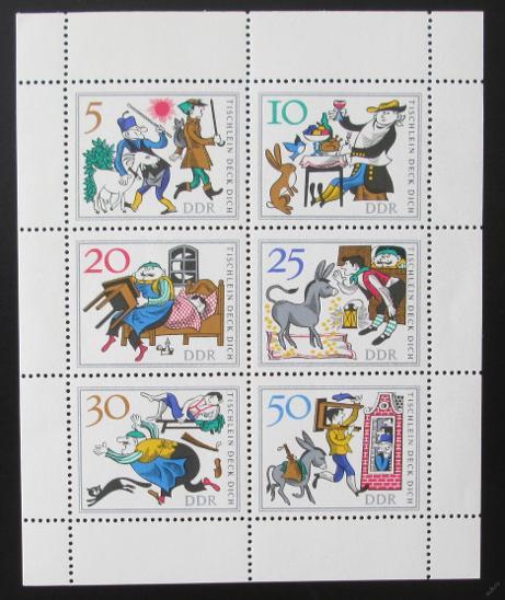 DDR 1966 Pohádky Mi# 1236-41 1069 - Filatelie