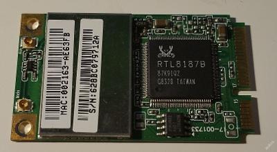 Wifi RTL8187B z Toshiba Satellite L300D