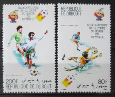 Džibutsko 1981 MS ve fotbale Mi# 290-91 1049