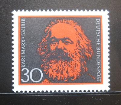 Německo 1968 Karel Marx Mi# 558 1054