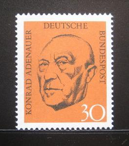 Německo 1968 Konrad Adenauer Mi# 567 1055