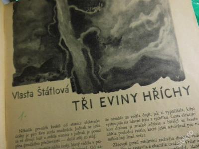 Zora r.1935 List našich děvčat Štáflová M.Dietrich
