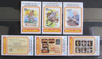 Nikaragua 1980 LOH Moskva Mi# 2085-90 b 35€ 1121