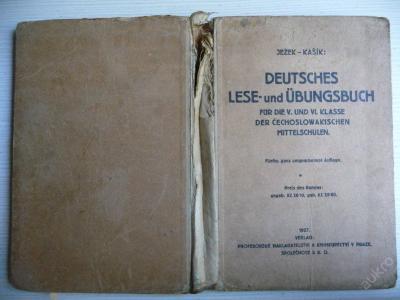 DEUTSCHES LESE-und ÜBUNGSBUCH - Ježek-Kašík 1927