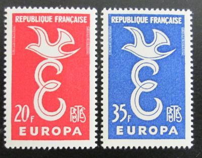 Francie 1958 Evropa CEPT Mi# 1210-11 1114